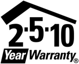 2-5-10 Home Warranty logo.
